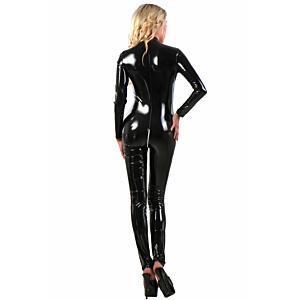 112VI  Catsuit- Black