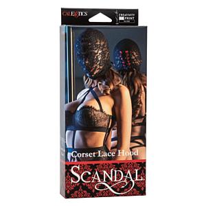 Scandal Corset Lace Hood California Exotics