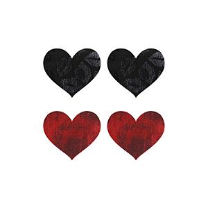 PEEKABOO PASTIES STOLEN KISSES HEARTS