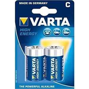 Batteries Alkaline Varta C- 2 p-1.5V