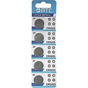 Batteries Lithium  Atc CR2025 - 1 p-3V