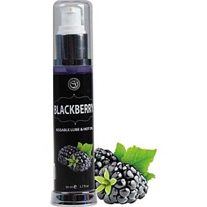 Hot Effect Kissable Lubricant - BlackBerry 50ml