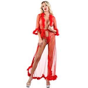 20351 Lingerie - Red - OS