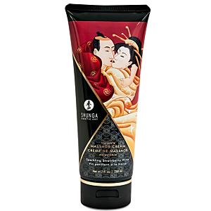 Kissable Massage Cream Sparkling Strawberry Wine 200ml