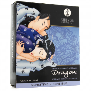 Shunga Erotic Art Dragon Sensitive Intensifying Cream For Couple 60ml
