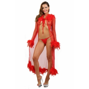 Lingerie 9334 - Red - One Size