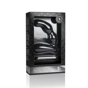 Συσκευή μασάζ για προστάτη Bad Boy Intense Black - 10-Speed