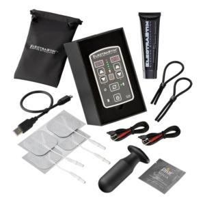 ElectraStim Flick Duo Stimulation Pack Black/Silver OS