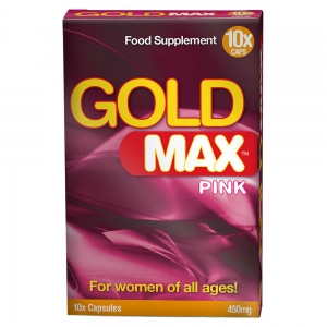 GoldMAX Libido Supplement 10 Pack For Women No Colour 450mg