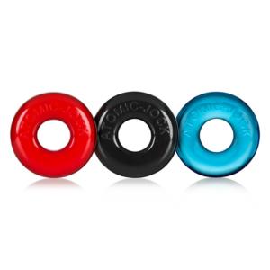 Oxballs Ringer 3 Pack Multi Small