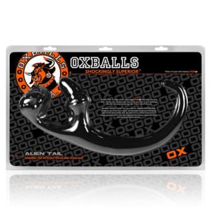 Oxballs Alien Tail Butt Plug Sling Black OS