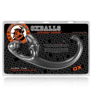Oxballs Alien Tail Butt Plug Sling Silver OS