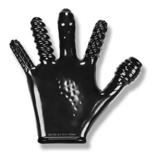 Oxballs Finger Fuck Glove Black Os