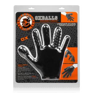 Oxballs Finger Fuck Glove Black