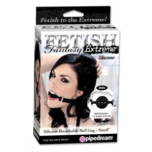 Fetish Fantasy Extreme Breathable Ball Gag Black Small