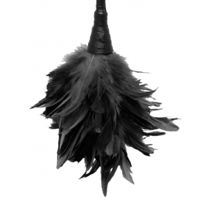 Fetish Fantasy Frisky Feather Duster Black OS