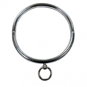 Rouge Garments Stainless Steel Collar Silver Os