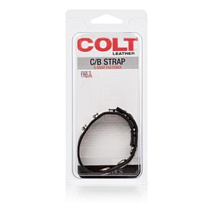 Colt Adjustable 5 Snap Leather Strap