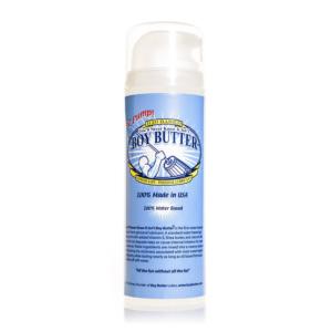 Boy Butter H2O Pump Transparent 5oz