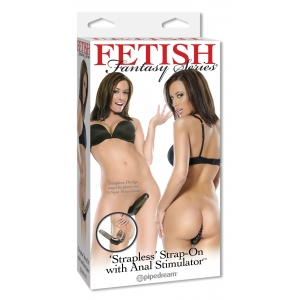 Fetish Fantasy Series Strapless Strap-on anal stimulator