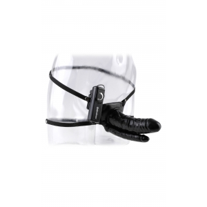 6 Inch Double Hollow Strap-On
