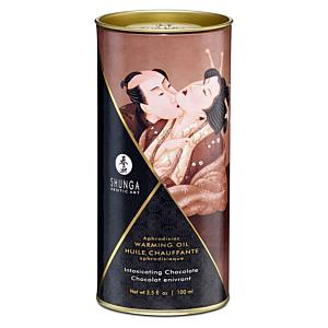 Aphrodisiac Warming Oil - Intoxicating Chocolate - 100ml