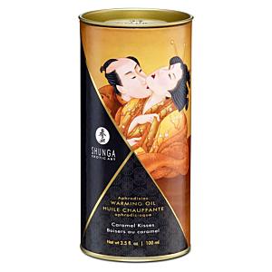 Aphrodisiac Warming Oil - Caramel Kisses - 100ml