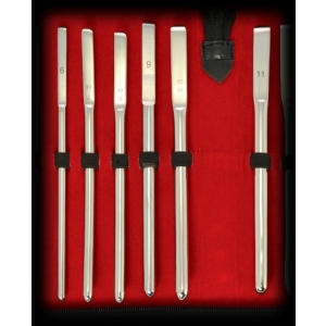 6 Pieces Stainless Steel Sounding Set 6-11 mm.