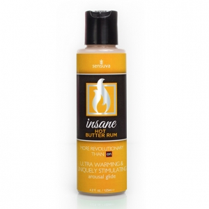 Sensuva - Insane Arousal Glide Hot Butter Rum 125 ml
