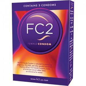 Femidom FC2 Female Condom 3 pcs