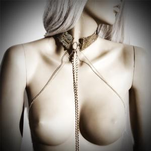 Bijoux Indiscrets - Desir Metallique Collar Gold