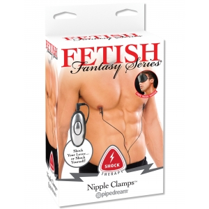 Pipedream Fetish Fantasy Series - Shock Therapy Nipple Clamps