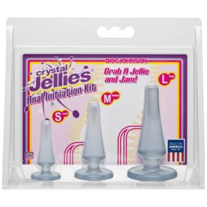 Crystal Jellies - Anal Initiation Kit