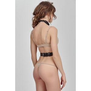 Fetish Chest Harness straps with Ring