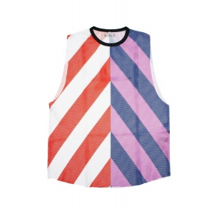 Tank Top Stripped Sunny - Red/Pink