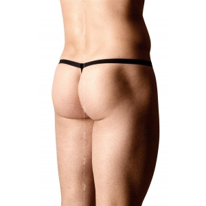 Mens Thong 4531 String - Leopard OneSize