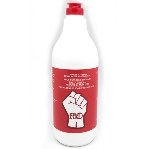The Red FIST GREASE LUBRICANT Semi-liquid milking grease 1 Liter