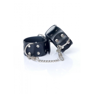 Handcuffs with studs 4 cm (Vegan Leather)