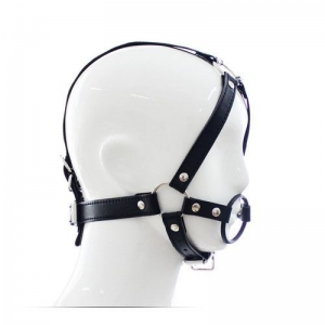 Head Harness+Ring Gag