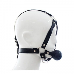 Head Harness+Ball Gag