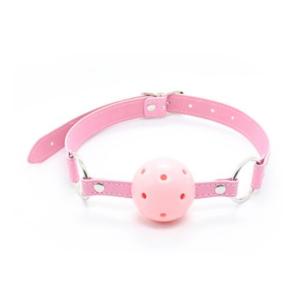 Μπίλια για το στόμα με τρύπες - Ball Gag ροζ