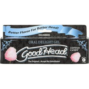Goodhead Oral Delight Gel Cotton Candy 4oz