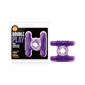 PLAY WITH ME DOUBLE PLAY COCKRING PURPLE
