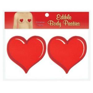 Φαγώσιμα Καλύμματα Θηλών σε σχήμα καρδιάς  Κανέλα