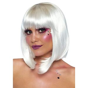 Pearl short natural bob wig