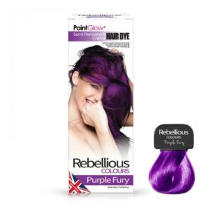 Semi-Permanent Hairdye, 70ml - Purple Fury