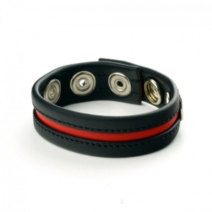 Prowler RED Cock Strap Black/Red OS
