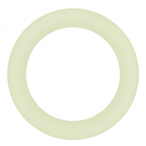 Halo 50mm Cockring Small WHITE