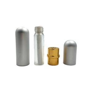Silver Aluminium Popper Inhaler
