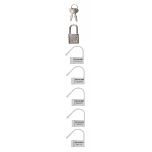 Spare Lock - White